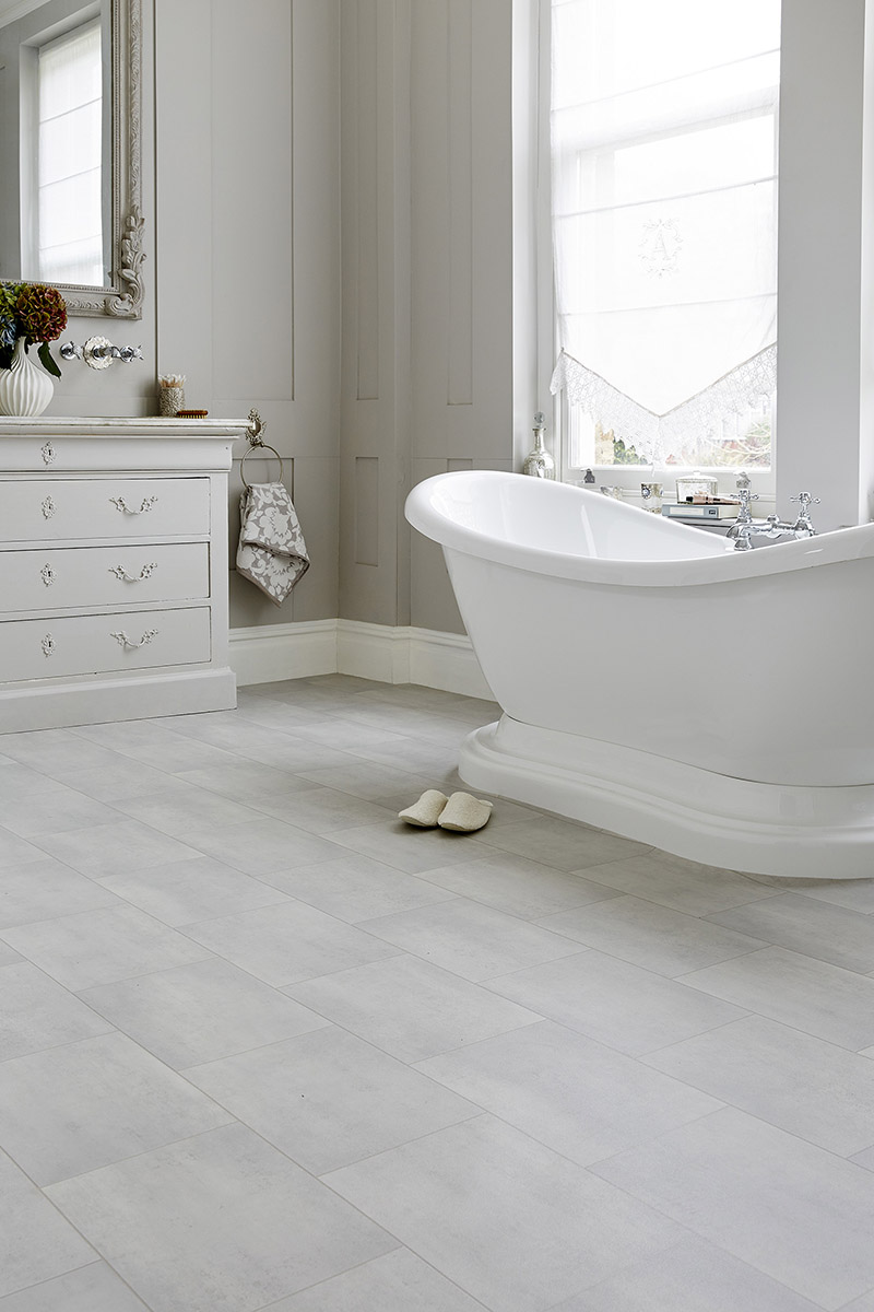 Waterproof And Warm Underfoot, Avenue Vinyl Flooring Is Ideal For Bathroom  Use.